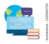 online education school | Shutterstock .eps vector #1320565724
