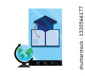 online education school | Shutterstock .eps vector #1320566177