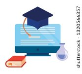 online education school | Shutterstock .eps vector #1320566357