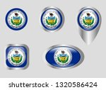 seal of the state of... | Shutterstock .eps vector #1320586424