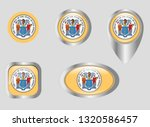 seal of the state of new jersey | Shutterstock .eps vector #1320586457