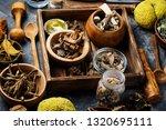 medicinal herb.healing herbs... | Shutterstock . vector #1320695111