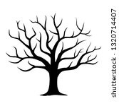leaf scattered tree | Shutterstock .eps vector #1320714407