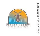 logo for farmer market | Shutterstock .eps vector #1320715424