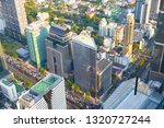 cityscape top view in chong... | Shutterstock . vector #1320727244