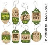 paper price tag retro vintage... | Shutterstock .eps vector #1320767084