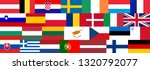 seamless pattern of 28 flags of ...   Shutterstock . vector #1320792077