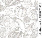 seamless pattern of natural... | Shutterstock .eps vector #1320793511