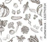 seamless pattern of natural... | Shutterstock .eps vector #1320793514