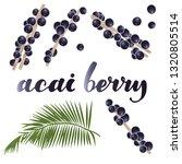 vector illustration of acai... | Shutterstock .eps vector #1320805514