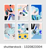 collection of creative... | Shutterstock .eps vector #1320823304