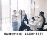 multi ethnic group of business... | Shutterstock . vector #1320846554