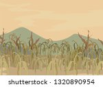 illustration of dry and dying... | Shutterstock .eps vector #1320890954