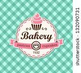 cupcake | Shutterstock .eps vector #132090731
