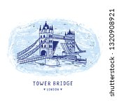Sketchy London Tower Bridge...