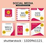 modern promotion square web... | Shutterstock .eps vector #1320961121