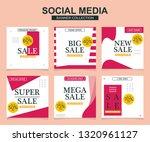 modern promotion square web... | Shutterstock .eps vector #1320961127