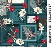 seamless pattern silk scarf...   Shutterstock .eps vector #1321069817