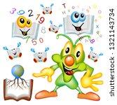 universal scholastic education...   Shutterstock . vector #1321143734