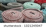carpets variety selection... | Shutterstock . vector #1321245047