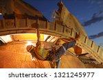 rope access welder maintenance... | Shutterstock . vector #1321245977