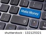 a concept of making money... | Shutterstock . vector #132125321