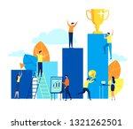 vector flat illustration ... | Shutterstock .eps vector #1321262501