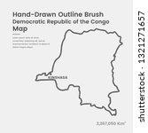 cartoon democratic republic of... | Shutterstock .eps vector #1321271657