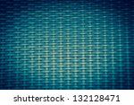 Turquoise Basket Weave Pattern...