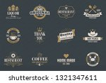 vintage retro vector logo for... | Shutterstock .eps vector #1321347611