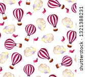 seamless pattern with stripped... | Shutterstock . vector #1321388231