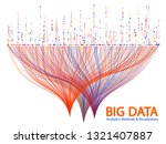 big data statistical analysis... | Shutterstock .eps vector #1321407887