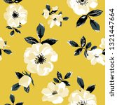 seamless pattern with spring... | Shutterstock .eps vector #1321447664