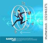 future business leader concept... | Shutterstock .eps vector #1321461371