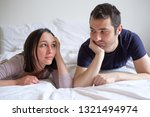 sad couple and relationship... | Shutterstock . vector #1321494974