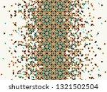 morocco disintegration template ... | Shutterstock .eps vector #1321502504