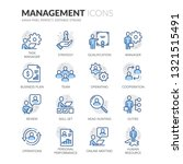 simple set of people management ... | Shutterstock .eps vector #1321515491