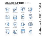 simple set of legal documents... | Shutterstock .eps vector #1321515494