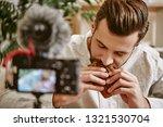 perfect taste  close up... | Shutterstock . vector #1321530704