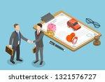 isometric flat vector concept... | Shutterstock .eps vector #1321576727