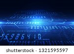 abstract security digital... | Shutterstock .eps vector #1321595597