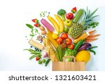 healthy food selection.... | Shutterstock . vector #1321603421
