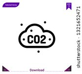 co2 icon vector . best modern ...