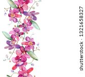 pink orchid bouquet floral...   Shutterstock . vector #1321658327