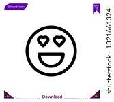 heart eyes icon vector . best...