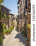 Spello  Perugia  Umbria  Italy...