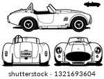 65 cobra vector art | Shutterstock .eps vector #1321693604