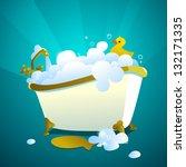Bathtub Full Of Soap Bubbles...
