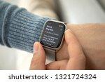 anapa  russia   february 17 ... | Shutterstock . vector #1321724324