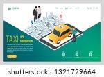 design website or landing page... | Shutterstock .eps vector #1321729664